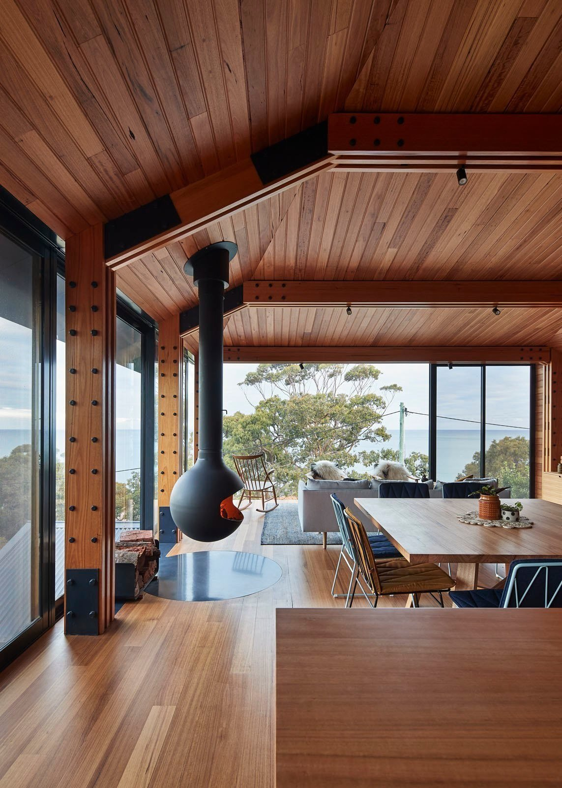 Dorman House from A Great Ocean Road Shack With a View Gets a Sustainable Update