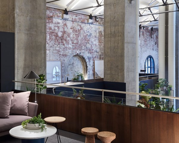 An Old Power Station in Melbourne is Transformed Into A Modern Tiered Restaurant - Photo 8 of 9 -