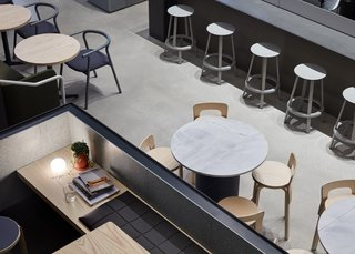 An Old Power Station in Melbourne is Transformed Into A Modern Tiered Restaurant - Photo 9 of 9 -