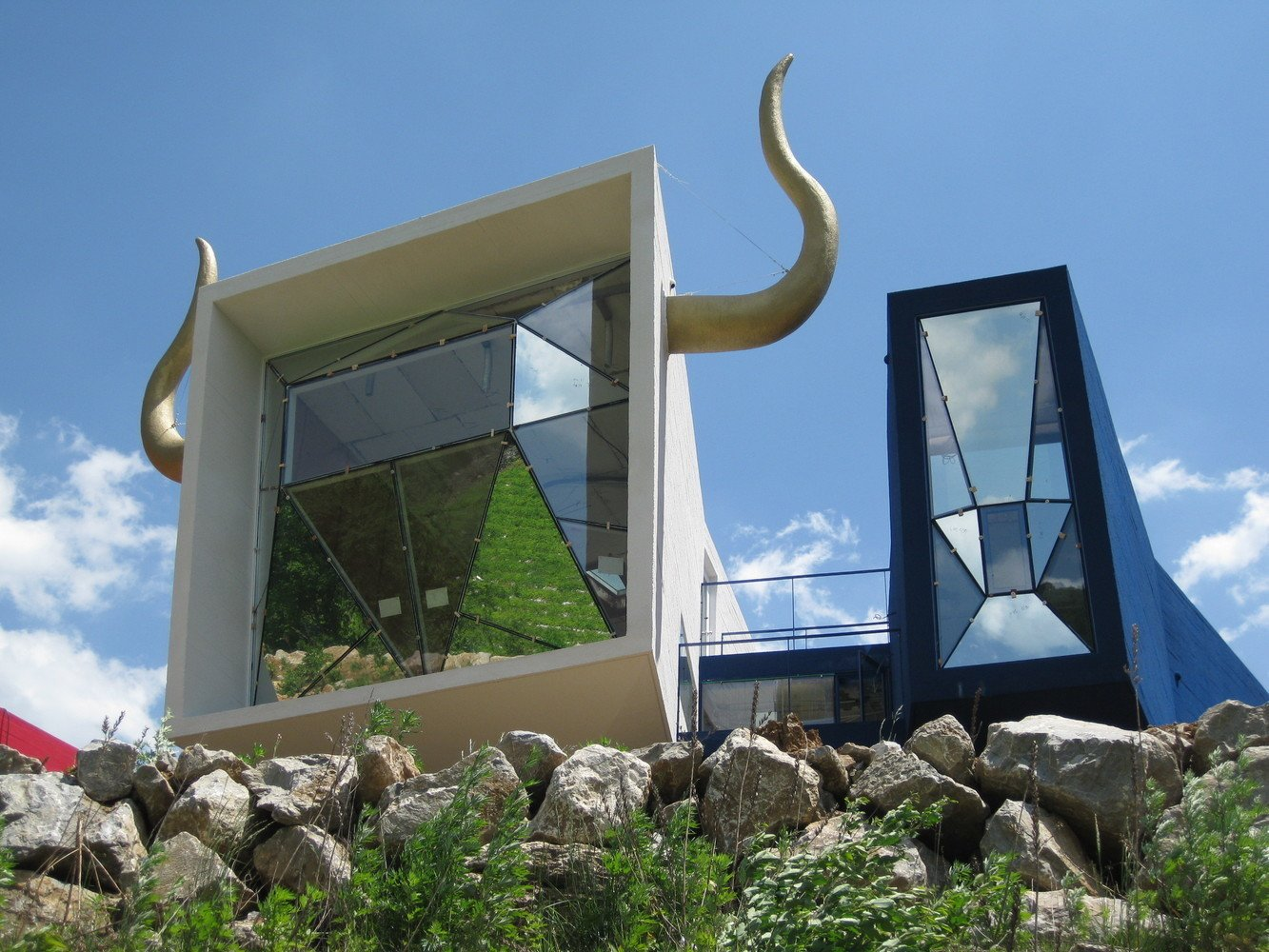 Exterior and House Building Type  Photo 2 of 11 in A Wacky Rock 'n' Roll Wonderland in the South Korean Countryside