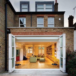 Bright Bauhaus Colors Fill This Brick Edwardian House in London - Photo 12 of 12 -