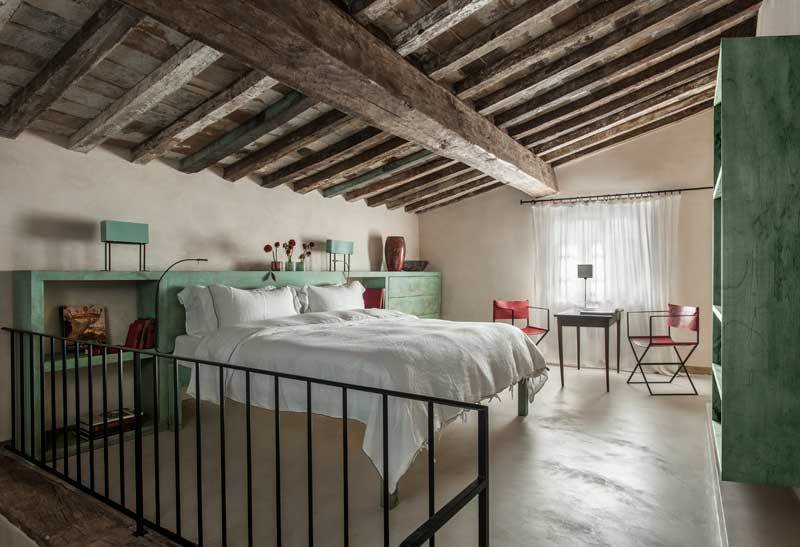 Photo 1 of 10 in Rustic Meets Modern In This Tuscan Village Boutique Hotel