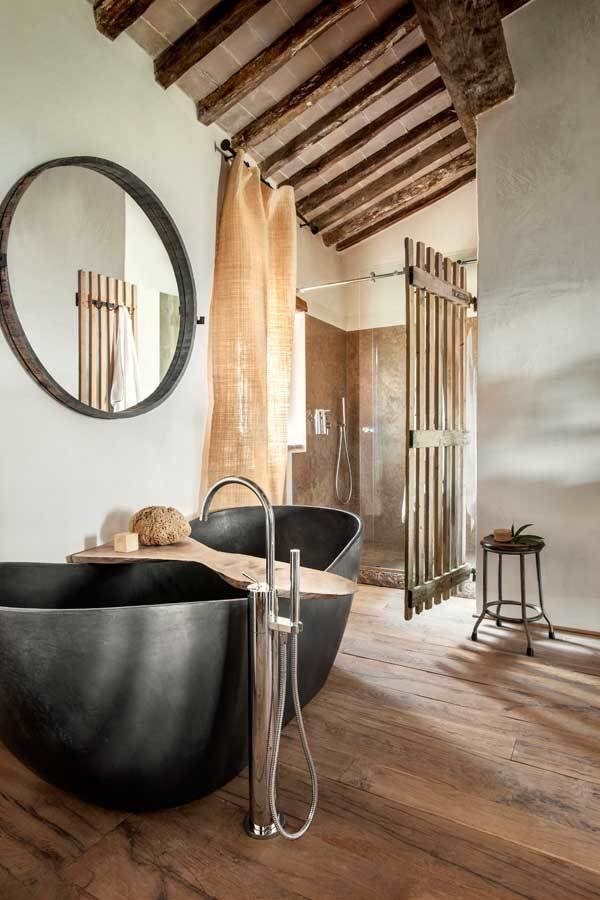 Photo 9 of 10 in Rustic Meets Modern In This Tuscan Village Boutique Hotel