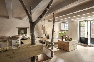 A Tree-Filled Spa That Brings Warm Modernism to a 900-Year-Old Tuscan Village