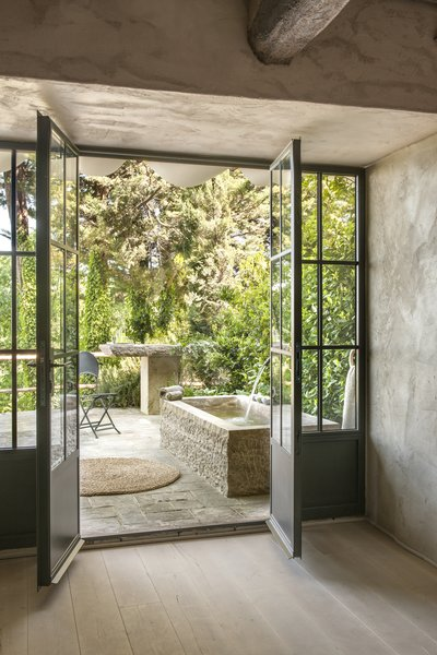 Photo 4 of 9 in A Tree-Filled Spa That Brings Warm Modernism to a 900-Year-Old Tuscan Village
