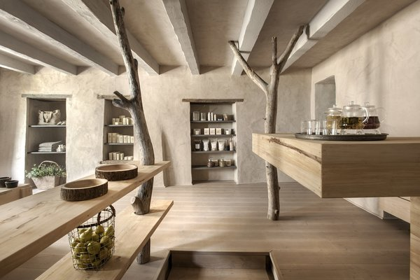 Photo 6 of 9 in A Tree-Filled Spa That Brings Warm Modernism to a 900-Year-Old Tuscan Village