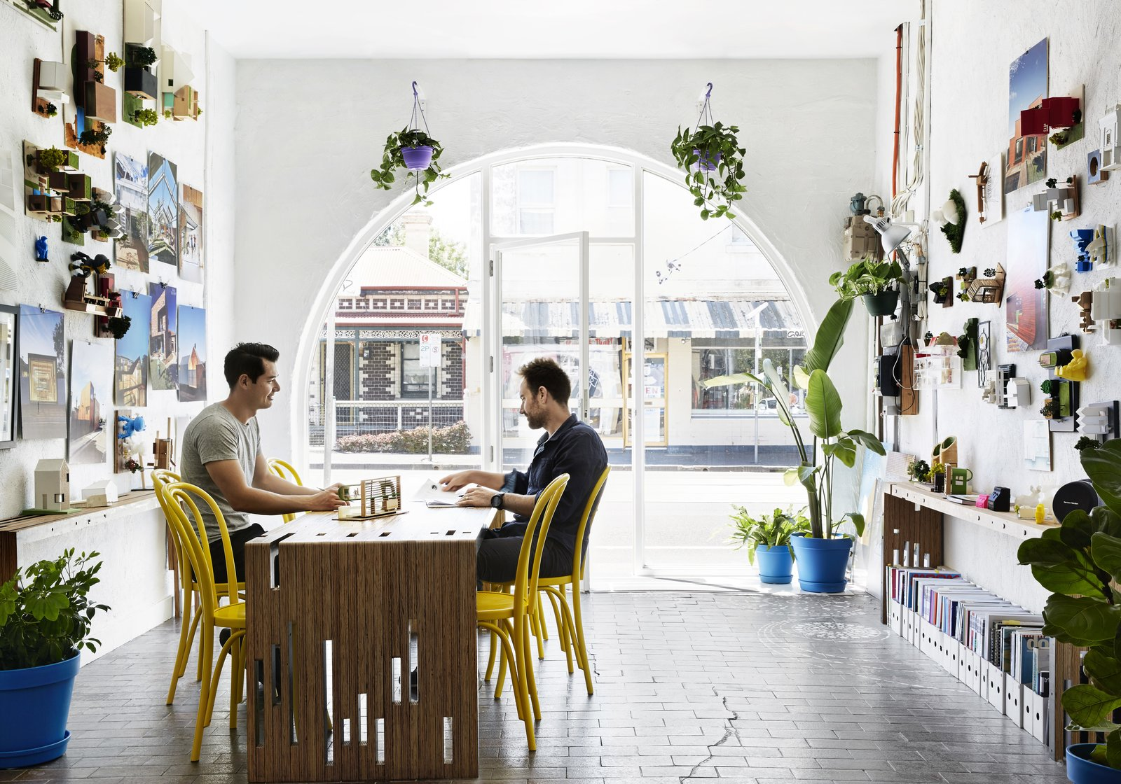 Photo 3 of 12 in An Architect Turns His Victorian Home Into a Sun-Drenched Live/Work Space