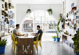 An Architect Turns His Victorian Home Into a Sun-Drenched Live/Work Space - Photo 3 of 12 -