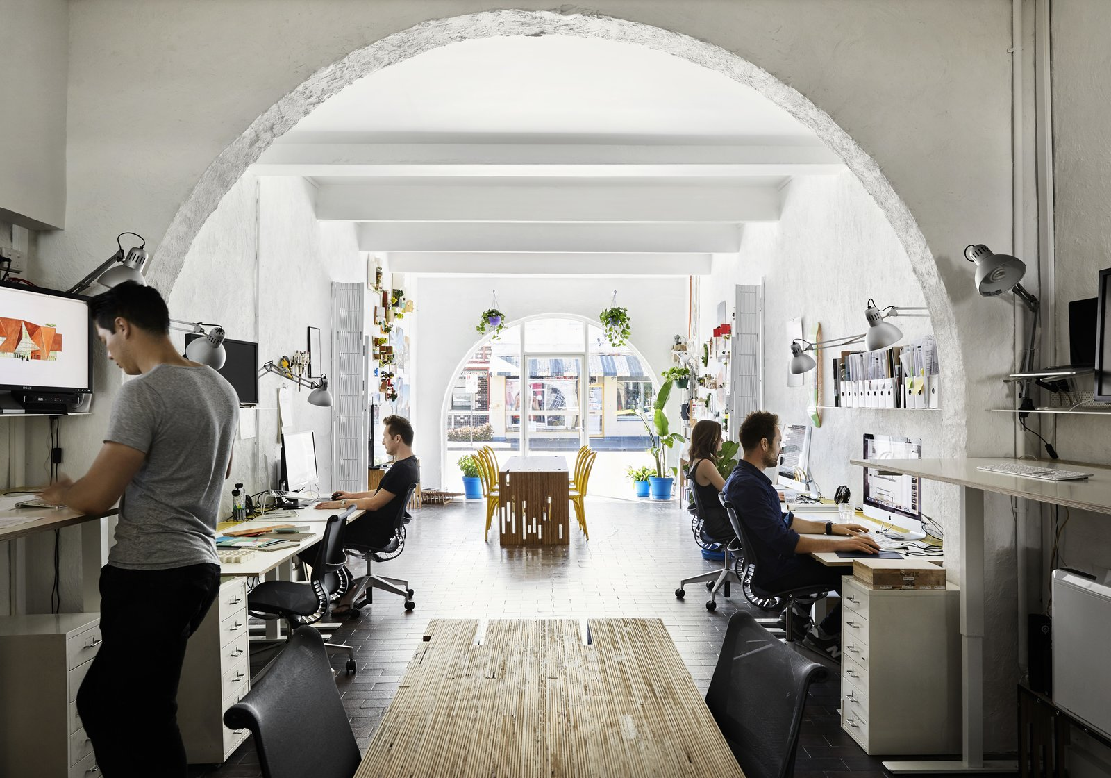 Photo 7 of 12 in An Architect Turns His Victorian Home Into a Sun-Drenched Live/Work Space
