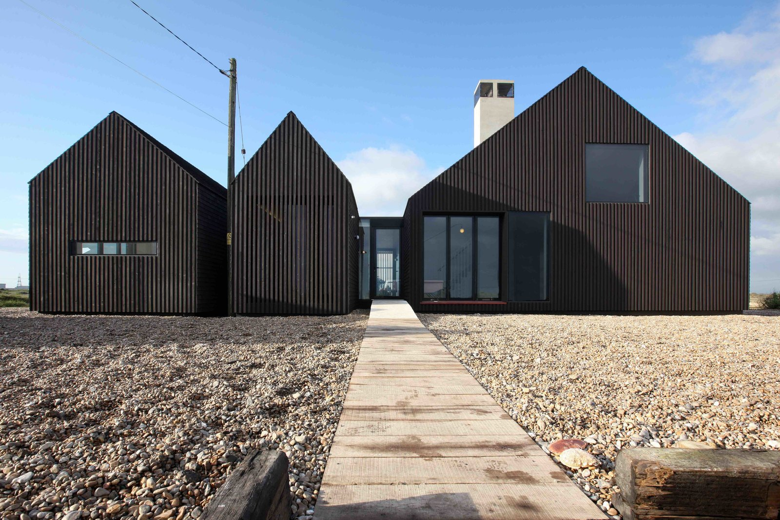 Photo 1 of 13 in 6 British Vacation Homes You Can Stay in That Were Designed by Renowned Architects