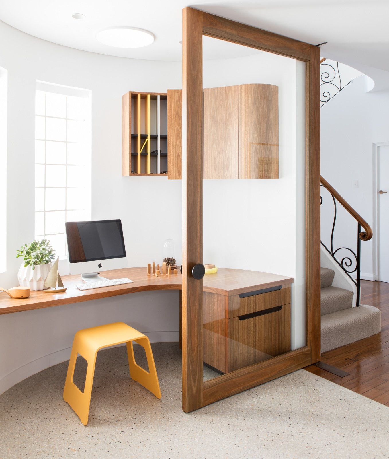 Doors, Interior, Wood, and Swing Door Type  Photo 2 of 11 in A Heritage Art Deco House in Australia Gets a Modern Update