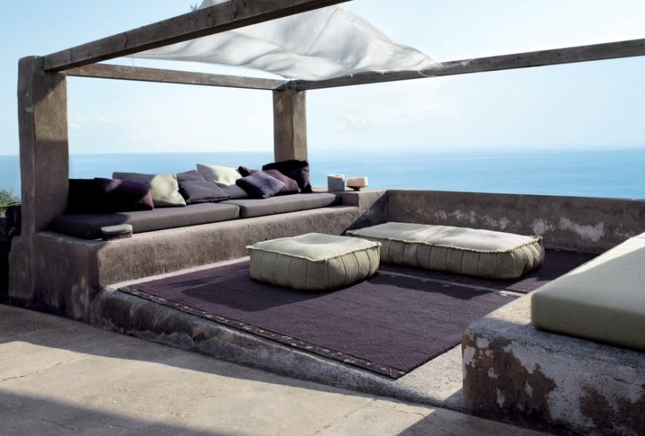 Outdoor and Concrete Patio, Porch, Deck  Photo 1 of 7 in 7 Tips For Creating Your Own Home Meditation Zone