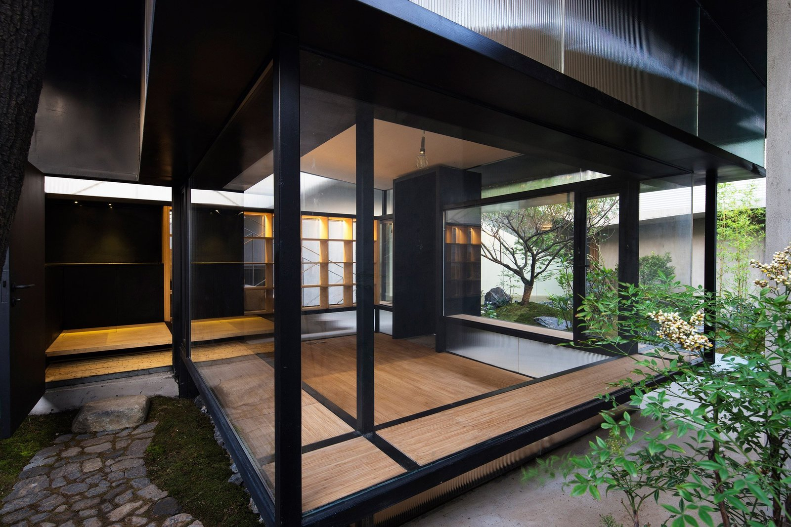 Windows, Metal, and Casement Window Type  Photo 7 of 7 in 7 Tips For Creating Your Own Home Meditation Zone