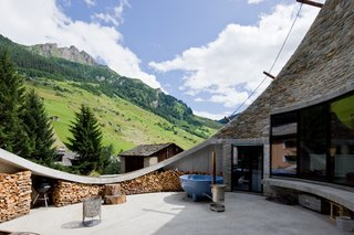 Stay in a Swiss Vacation Home That's Literally Inside a Mountain - Photo 1 of 12 -