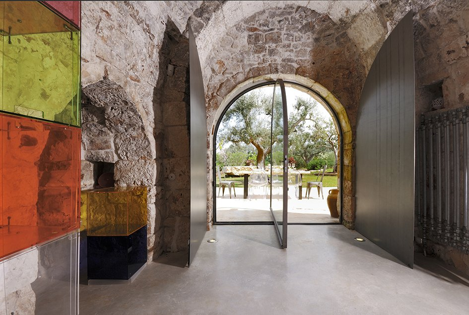 Doors, Swing Door Type, Exterior, Metal, and Wood  Photo 7 of 11 in Ever Wanted to Stay in an Ancient Trullo in Puglia, Italy?