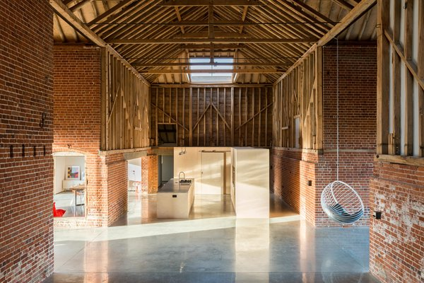 Photo 2 of 10 in A Suffolk Barn Home With Soaring Ceilings Listed at $1.95M