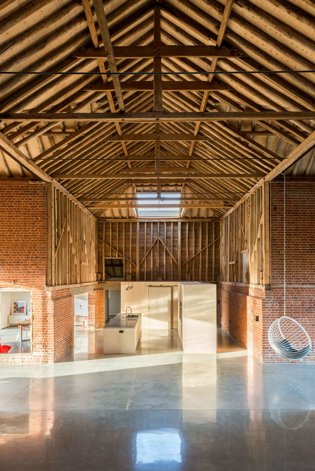Photo 10 of 10 in A Suffolk Barn Home With Soaring Ceilings Listed at $1.95M