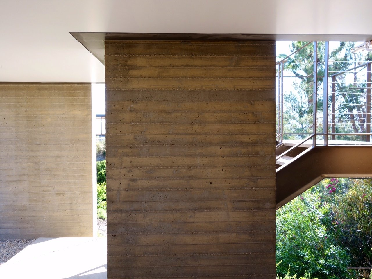 Staircase  Photo 6 of 13 in Take Your Next Vacation in a Midcentury Home in the Santa Monica Mountains