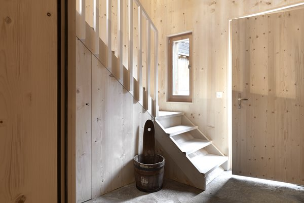 Photo 7 of 13 in A Renovated Pagan House in the Swiss Alps Puts Guests in Touch With the Past