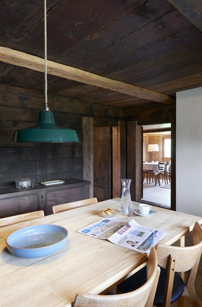 Photo 9 of 13 in A Renovated Pagan House in the Swiss Alps Puts Guests in Touch With the Past