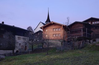 A Renovated Pagan House in the Swiss Alps Puts Guests in Touch With the Past - Photo 12 of 12 -