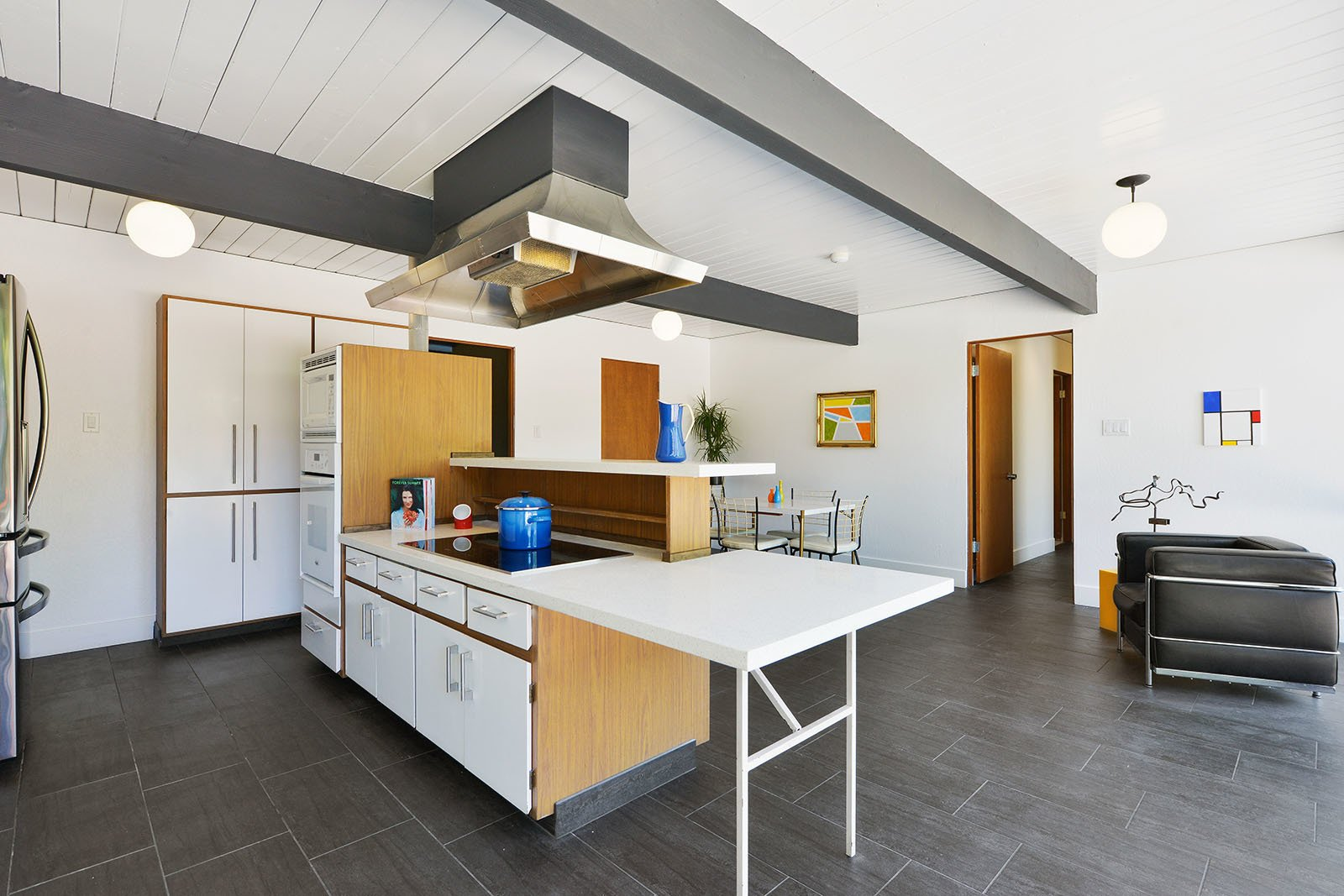 Kitchen  Photo 9 of 15 in An Enormous Bay Area Eichler Asks $1.45M