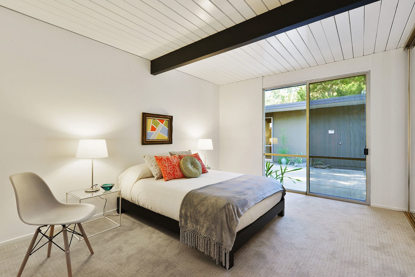 Bedroom  Photo 7 of 15 in An Enormous Bay Area Eichler Asks $1.45M