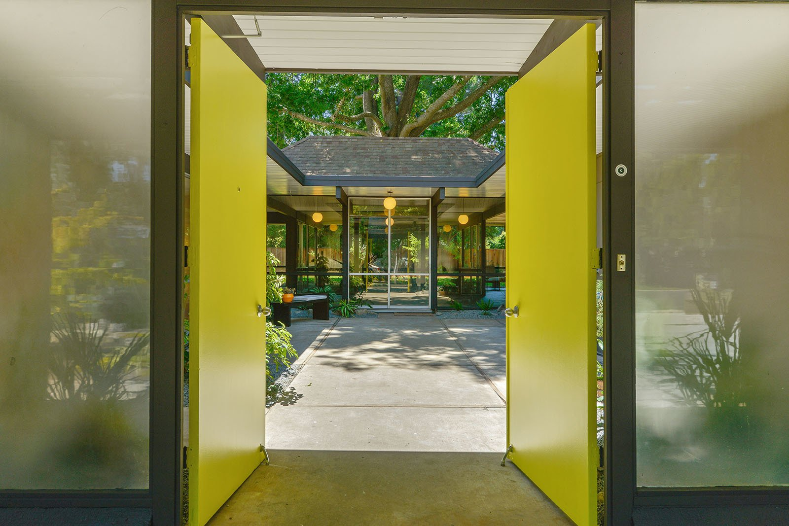 Doors and Swing Door Type  Photo 2 of 15 in An Enormous Bay Area Eichler Asks $1.45M