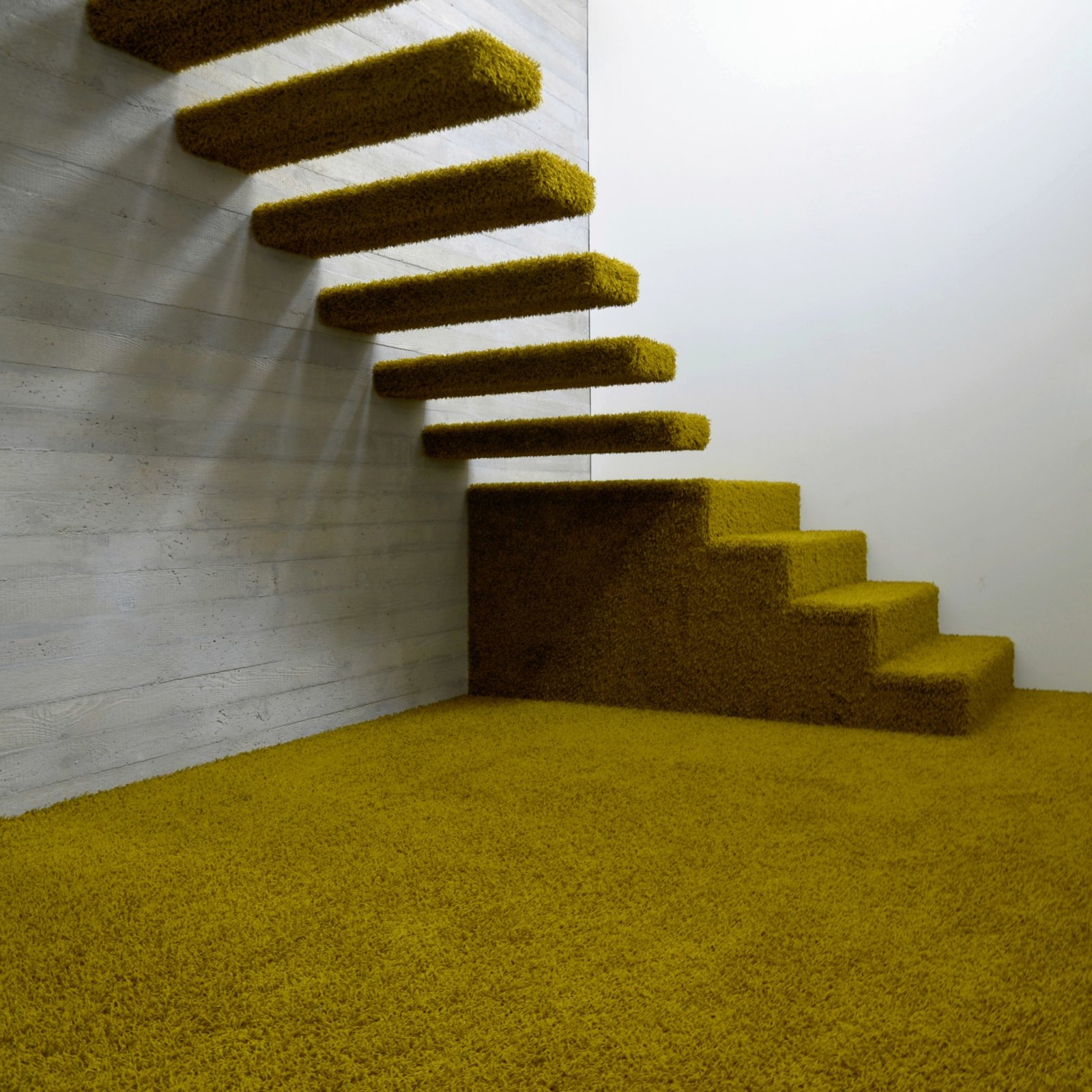 Staircase  Refugium Betzenstein from Escape to a Bio-Passive Vacation Refuge in a Bavarian Nature Park