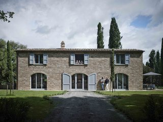 Stay in a Modern, Industrial Home That's Hidden Inside a Traditional Tuscan Villa - Photo 1 of 10 -