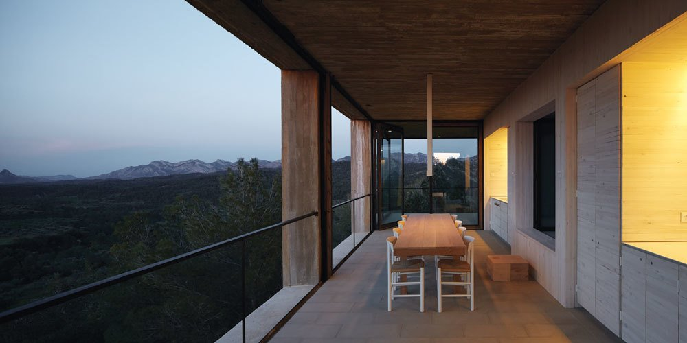 Photo 14 of 18 in Stacked Concrete Squares Make Up This Incredible Vacation Home in Aragon, Spain