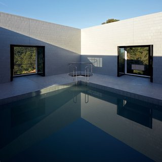 Stacked Concrete Squares Make Up This Incredible Vacation Home in Aragon, Spain - Photo 4 of 17 -