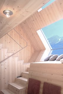 Stay in a Tiny Shingled Cabin in Austria That Resembles a Bird-Like UFO - Photo 3 of 11 -