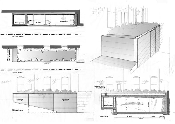 Plans For a Simple Carport Evolve Into a Rear Addition and See-Through Pool - Photo 12 of 13 -