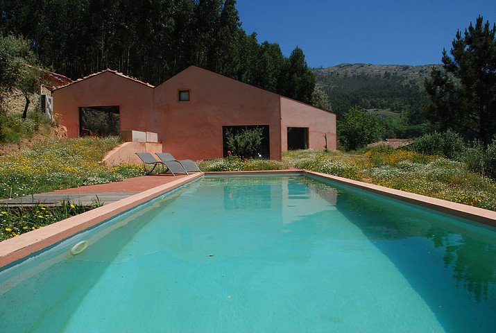 Outdoor, Large Pools, Tubs, Shower, and Swimming Pools, Tubs, Shower  Photo 16 of 16 in Stay in a Tiny, Eco-Friendly House in a Portuguese Schist Village