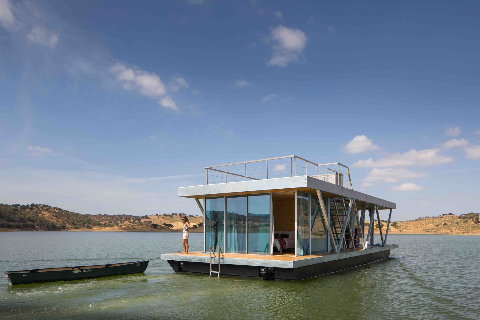 Photo 1 of 7 in 6 Modular Houseboat and Floating Home Manufacturers Around the World