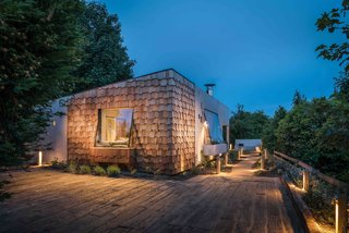 Hide Out in a Tiny Concrete-and-Shingle Cottage For Rent in Cornwall