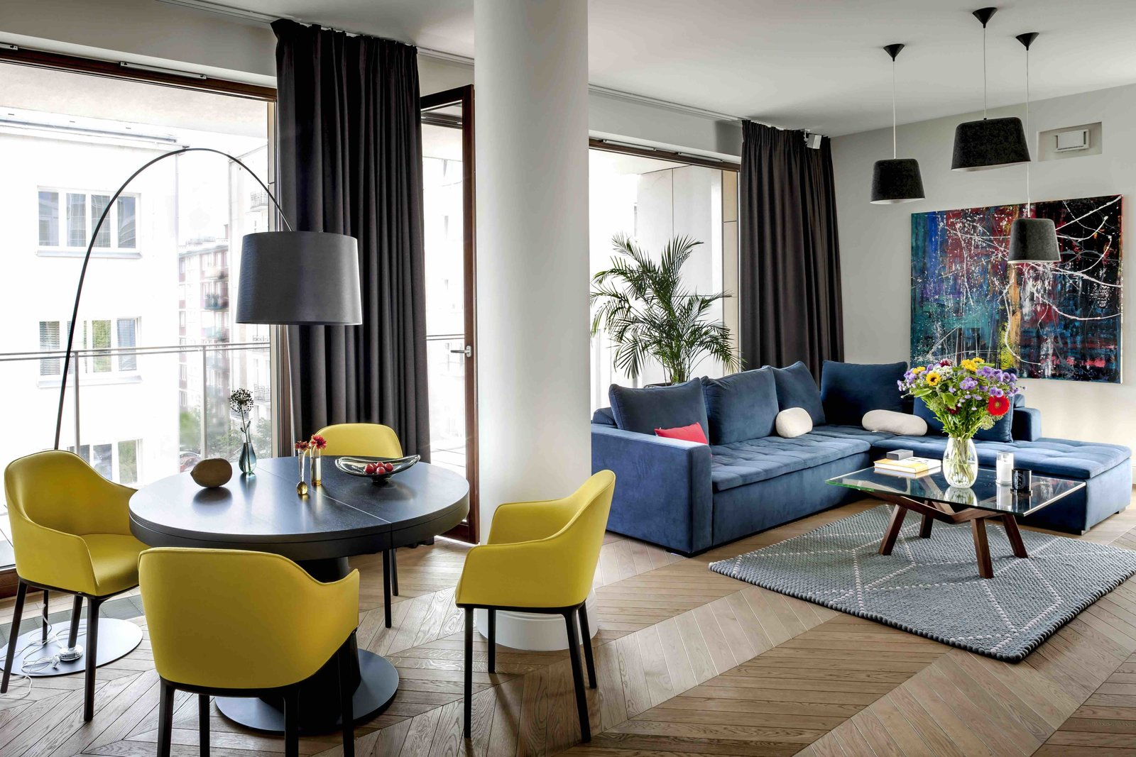 Filled With Color and Pattern This Eclectic Apartment Brings a Little Madrid to Warsaw & Filled With Color and Pattern This Eclectic Apartment Brings a ...
