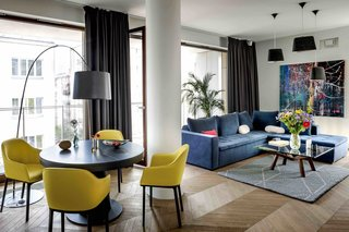 Filled With Color and Pattern, This Eclectic Apartment Brings a Little Madrid to Warsaw