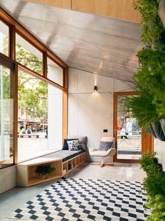 10 Prefabricated or Modular Structures That Use Plywood in Creative Ways - Photo 7 of 11 - Australian firm Archiblox designed the world's first carbon-positive prefab with interiors filled with sustainably sourced plywood with formaldehyde- and VOC-free finishes.