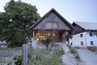An Old Cattle Barn in Slovenia Is Saved and Transformed Into a Family Home - Photo 1 of 11 -