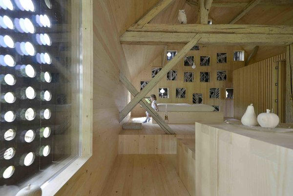 An Old Cattle Barn in Slovenia Is Saved and Transformed Into a Family Home - Photo 6 of 11 -