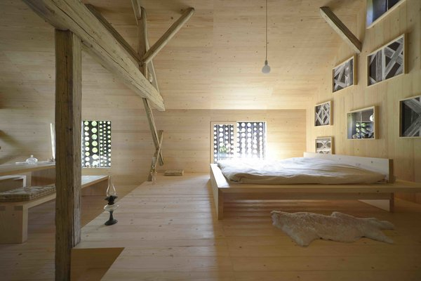 An Old Cattle Barn in Slovenia Is Saved and Transformed Into a Family Home - Photo 9 of 11 -