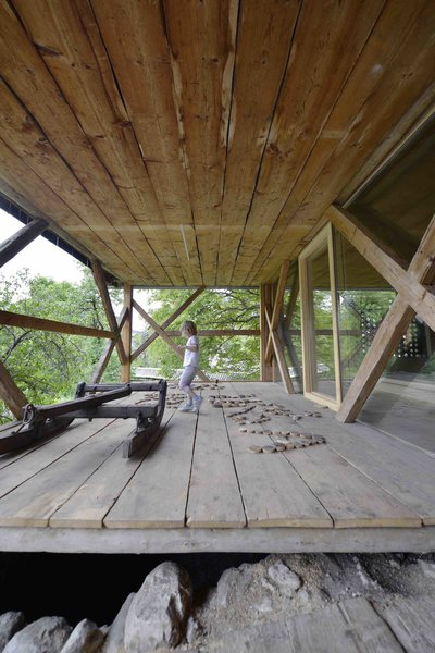 An Old Cattle Barn in Slovenia Is Saved and Transformed Into a Family Home - Photo 11 of 11 -