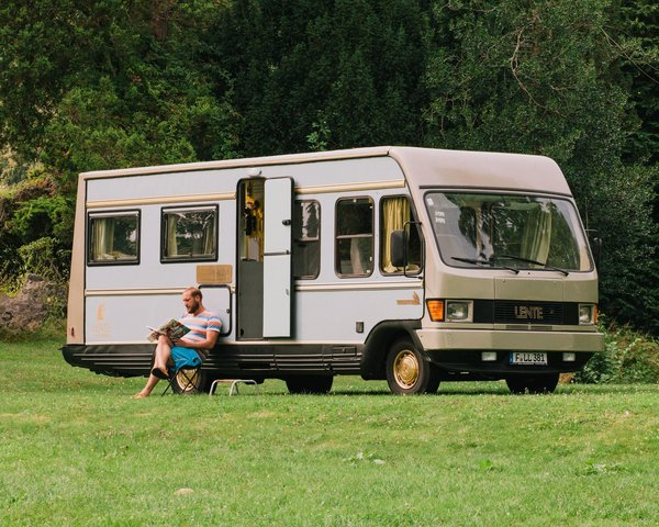 Frankfurt hospitality group Lindenberg has created a hotel room in a 1981 Mercedes camper. It's a great way to explore as much of the German countryside as you can, and a smart choice for those who want escape the crowds.
