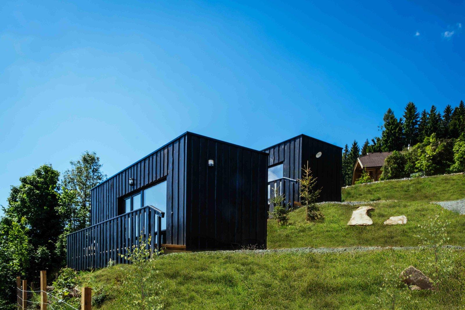 Verführerisch Commod Haus Foto Von Exterior, Small Home Building Type, Prefab Building