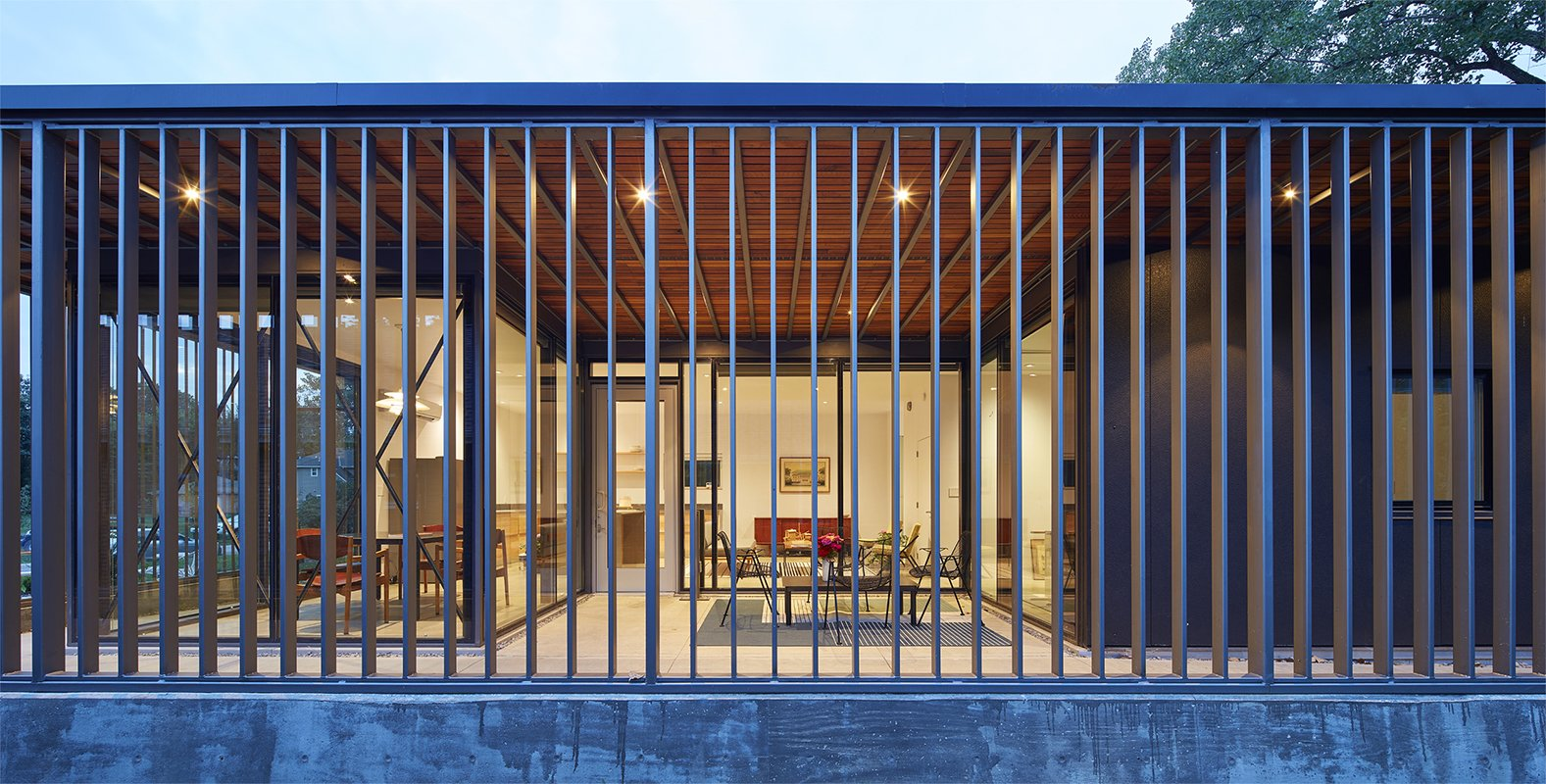 Photo 17 of 19 in 9 Best Homes With Interesting Screened Facades - Dwell