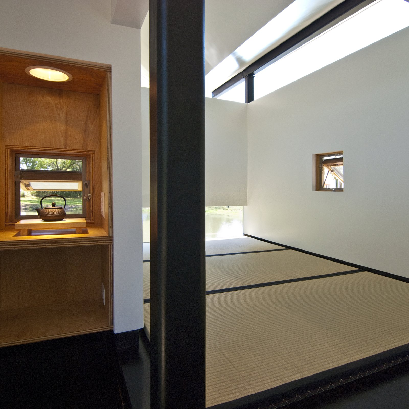 Living Room  Photo 7 of 13 in 6 Tiny Outdoor Pavilions Inspired by Japanese Tearooms