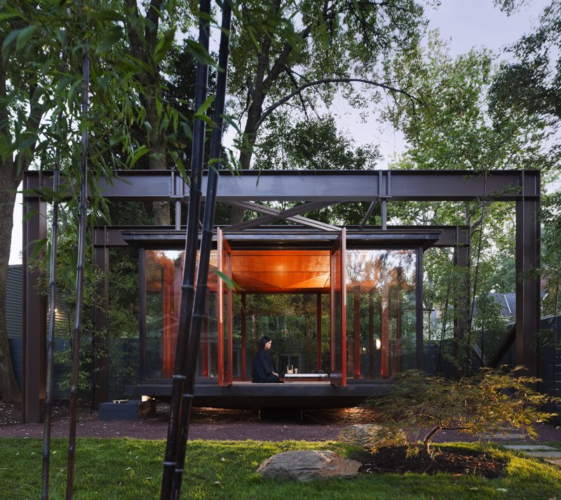 Shed & Studio  Photo 11 of 13 in 6 Tiny Outdoor Pavilions Inspired by Japanese Tearooms