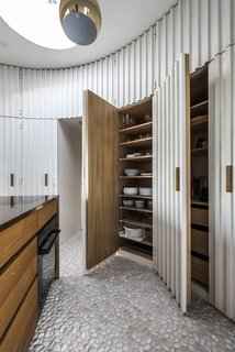 Stay in This Danish Vacation Home Made Up of 9 Log-Clad Cylinders - Photo 12 of 14 -